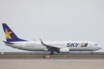 小牛田薫さんが、中部国際空港で撮影したスカイマーク 737-82Yの航空フォト(写真)
