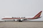 小牛田薫さんが、中部国際空港で撮影したカリッタ エア 747-212B(SF)の航空フォト(写真)