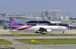 kix-boobyさんが、関西国際空港で撮影したタイ国際航空 777-3D7の航空フォト(写真)