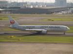 なみくしさんが、羽田空港で撮影した日本航空 767-346の航空フォト(写真)
