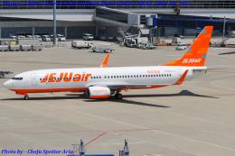 Chofu Spotter Ariaさんが、中部国際空港で撮影したチェジュ航空 737-8ASの航空フォト(写真)