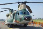 apphgさんが、静浜飛行場で撮影した航空自衛隊 CH-47J/LRの航空フォト(写真)