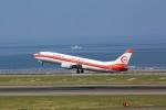 トールさんが、中部国際空港で撮影した日本トランスオーシャン航空 737-446の航空フォト(写真)