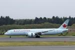 にしやんさんが、成田国際空港で撮影したエア・カナダ 787-9の航空フォト(写真)