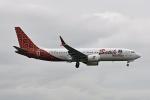flytaka78さんが、成田国際空港で撮影したマリンド・エア 737-8-MAXの航空フォト(写真)