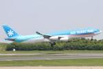 haruteeeeenさんが、成田国際空港で撮影したエア・タヒチ・ヌイ A340-313Xの航空フォト(写真)