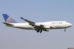 haruteeeeenさんが、成田国際空港で撮影したユナイテッド航空 747-422の航空フォト(写真)