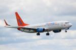 KAZ_YYZさんが、トロント・ピアソン国際空港で撮影したサンウィング・エアラインズ 737-8BKの航空フォト(写真)