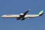 安芸あすかさんが、スワンナプーム国際空港で撮影したマーハーン航空 A340-642の航空フォト(写真)