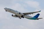 xingyeさんが、関西国際空港で撮影したガルーダ・インドネシア航空 A330-343Eの航空フォト(写真)