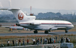 Gambardierさんが、名古屋飛行場で撮影した日本航空 727-46の航空フォト(写真)