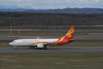 くーぺいさんが、新千歳空港で撮影した海南航空 737-84Pの航空フォト(写真)