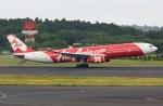 sky77さんが、成田国際空港で撮影したインドネシア・エアアジア・エックス A330-343Xの航空フォト(写真)