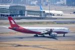 ジャコビさんが、羽田空港で撮影した上海航空 A330-343Xの航空フォト(写真)
