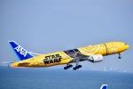 ジャコビさんが、羽田空港で撮影した全日空 777-281/ERの航空フォト(写真)