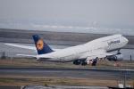 ジャコビさんが、羽田空港で撮影したルフトハンザドイツ航空 747-830の航空フォト(写真)