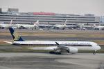 ジャコビさんが、羽田空港で撮影したシンガポール航空 A350-941XWBの航空フォト(写真)