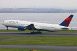 Kuuさんが、羽田空港で撮影したデルタ航空 777-232/ERの航空フォト(写真)