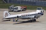 たろりんさんが、仙台空港で撮影したスーパーコンステレーション飛行協会 DC-3Aの航空フォト(写真)