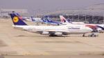 てつさんが、関西国際空港で撮影したルフトハンザドイツ航空 747-430の航空フォト(写真)