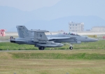 じーく。さんが、岩国空港で撮影したアメリカ海軍 EA-18G Growlerの航空フォト(写真)