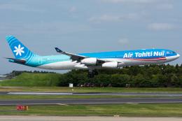 Tomo-Papaさんが、成田国際空港で撮影したエア・タヒチ・ヌイ A340-313Xの航空フォト(写真)