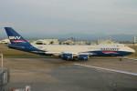 コギモニさんが、小松空港で撮影したシルクウェイ・ウェスト・エアラインズ 747-83QFの航空フォト(写真)