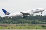 sky77さんが、成田国際空港で撮影したユナイテッド航空 777-222の航空フォト(写真)
