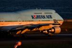 HISATAKUさんが、関西国際空港で撮影した大韓航空 747-4B5の航空フォト(写真)