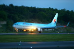 khideさんが、岡山空港で撮影した大韓航空 737-9B5/ER の航空フォト(写真)