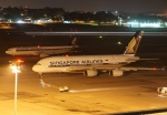 やまっちさんが、シンガポール・チャンギ国際空港で撮影したシンガポール航空 A380-841の航空フォト(写真)