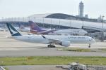 委員会の老人さんが、関西国際空港で撮影したキャセイパシフィック航空 A350-941XWBの航空フォト(写真)