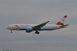 amagoさんが、成田国際空港で撮影したオーストリア航空 777-2Z9/ERの航空フォト(写真)