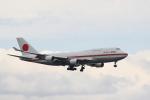 misaoiさんが、羽田空港で撮影した航空自衛隊 747-400の航空フォト(写真)