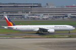 安芸あすかさんが、羽田空港で撮影したフィリピン航空 777-3F6/ERの航空フォト(写真)