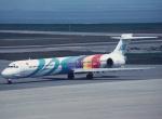 プルシアンブルーさんが、新潟空港で撮影した日本エアシステム MD-90-30の航空フォト(写真)