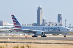 panchiさんが、成田国際空港で撮影したアメリカン航空 777-223/ERの航空フォト(写真)