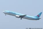 tabi0329さんが、福岡空港で撮影した大韓航空 737-9B5の航空フォト(写真)