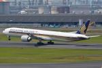 さくらの城南山。さんが、羽田空港で撮影したシンガポール航空 777-312/ERの航空フォト(写真)