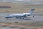 OS52さんが、羽田空港で撮影したJohnson & Johnson Finance Corporation G-V-SP Gulfstream G550の航空フォト(写真)