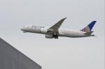 mild lifeさんが、関西国際空港で撮影したユナイテッド航空 787-8 Dreamlinerの航空フォト(写真)