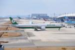 kumagorouさんが、関西国際空港で撮影したエバー航空 777-36N/ERの航空フォト(写真)