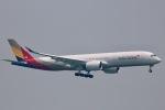 A350XWB-HNDさんが、香港国際空港で撮影したアシアナ航空 A350-941XWBの航空フォト(写真)