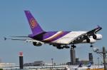 fortnumさんが、成田国際空港で撮影したタイ国際航空 A380-841の航空フォト(写真)