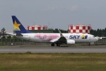 ゆういちさんが、鹿児島空港で撮影したスカイマーク 737-86Nの航空フォト(写真)