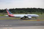 ハム太郎さんが、成田国際空港で撮影したアメリカン航空 777-223/ERの航空フォト(写真)