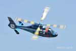 gucciyさんが、静浜飛行場で撮影した静岡県警察 AS365N1 Dauphin 2の航空フォト(写真)