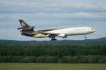 みっちゃんさんが、ケルン・ボン空港で撮影したUPS航空 MD-11Fの航空フォト(写真)