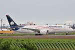 Orange linerさんが、成田国際空港で撮影したアエロメヒコ航空 787-8 Dreamlinerの航空フォト(写真)