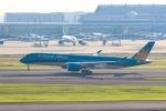 ぽん太さんが、羽田空港で撮影したベトナム航空 A350-941XWBの航空フォト(写真)
